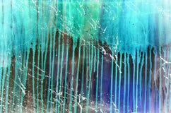 Abstrakt bakgrund för tappninggrungemålarfärg Royaltyfria Bilder