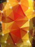 Abstrakt bakgrund för triangel Royaltyfria Bilder