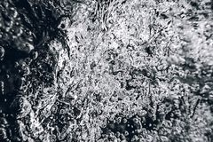 Abstrakt bakgrund för undervattens- bubblor Lufta bubblar Arkivbilder