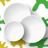 Abstrakt bakgrund för vektor för reklambladet, mellanrum, kort, baner Royaltyfri Foto