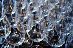 Abstrakt bakgrund för vinexponeringsglas royaltyfria bilder