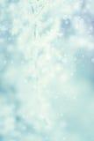 Abstrakt bakgrund för vinter - Frosty Snowy Arkivfoton
