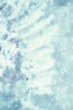 Abstrakt bakgrund för vinter - Frosty Snowy Royaltyfria Bilder