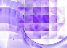 Abstrakt bakgrund för Violet och för vit Arkivbilder