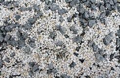Abstrakt bakgrund för vita och gråa stenar royaltyfria foton