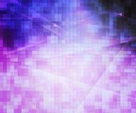 Abstrakt bakgrund för violetta PIXEL Arkivfoton
