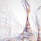 Abstrakt bakgrund, futuristisk illustration vektor illustrationer