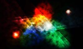 Abstrakt bakgrund, görar mellanslag nebular tema Royaltyfri Bild