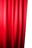 Abstrakt bakgrund, gardin, draperar rött tyg. Royaltyfri Bild