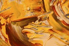 Abstrakt bakgrund, guling vaggar Arkivbilder