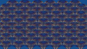 Abstrakt bakgrund i blått tonar, rasterbilden för designnollan Royaltyfri Foto