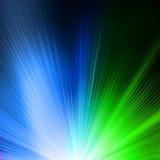 Abstrakt bakgrund i gräsplanblåttsignaler.  Royaltyfri Bild