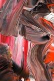 Abstrakt bakgrund i pastellfärgade röda signaler Royaltyfri Bild