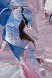 Abstrakt bakgrund i pastellfärgade signaler av lilor och blått Royaltyfria Bilder