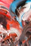 Abstrakt bakgrund i pastellfärgade signaler av rött svart blue Royaltyfria Foton