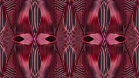 Abstrakt bakgrund i röda signaler, rasterbild för designen av Royaltyfri Bild