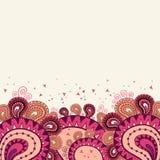 abstrakt bakgrund i rosa färger Royaltyfri Bild