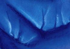 abstrakt bakgrund Isberget når en höjdpunkt eller kunde blockera av is Hand som dras med pastell på pappersillustration stock illustrationer