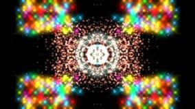 Abstrakt bakgrund, kalejdoskop för fantasi för idérik stilmagicbackdrop futuristisk psykedelisk stock illustrationer
