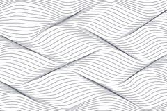 abstrakt bakgrund lines wavy royaltyfri illustrationer