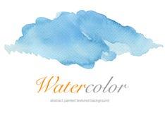 abstrakt bakgrund målad vattenfärg Royaltyfri Foto