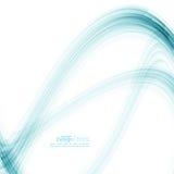 Abstrakt bakgrund med blåa band Royaltyfria Foton