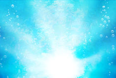 Abstrakt bakgrund med blebs Arkivbilder