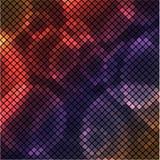 Abstrakt bakgrund med bubblor royaltyfri illustrationer