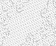 Abstrakt bakgrund med dekorativa karaktärsteckninglinjer också vektor för coreldrawillustration Utrymmetext Royaltyfri Fotografi