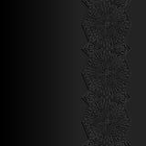 Abstrakt bakgrund med den traditionella prydnaden Royaltyfri Foto