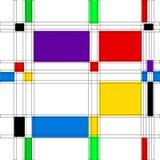 Abstrakt bakgrund med färg Stock Illustrationer