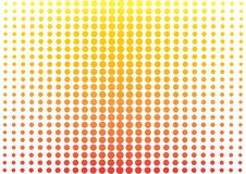 Abstrakt bakgrund med färgrika prickar, stil för popkonst vektor stock illustrationer