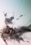 Abstrakt bakgrund med fina trådar Royaltyfria Bilder