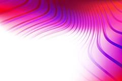 Abstrakt bakgrund med genomskinliga färgrika vågor fotografering för bildbyråer