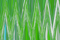 Abstrakt bakgrund med gröna sicksackar Royaltyfri Fotografi