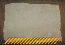 Abstrakt bakgrund med gula linjer Fotografering för Bildbyråer