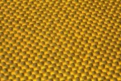 Abstrakt bakgrund med gult ljus Arkivbild