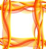 Abstrakt bakgrund med härliga band med en mestome vektor illustrationer