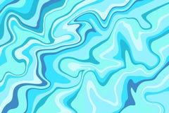 Abstrakt bakgrund med härliga fantasifärgpulvermodeller Flytande målar Fluid konst Prydnaden av marmor Konstdesign för ditt stock illustrationer