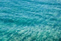 Abstrakt bakgrund med havet ytbehandlar Royaltyfri Fotografi
