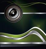 Abstrakt bakgrund med kameralinsen Arkivfoto