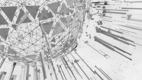 Abstrakt bakgrund med kommunikationsbegrepp