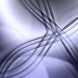 Abstrakt bakgrund med korsade linjer Arkivfoton