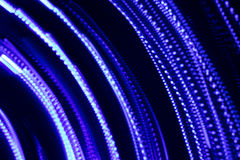 Abstrakt bakgrund med linjer och ljus effekt för frysning Arkivbilder