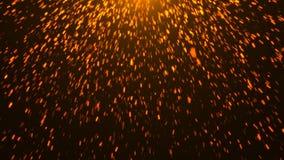 Abstrakt bakgrund med ljusa gnistor Arkivbild