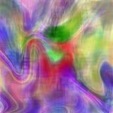 Abstrakt bakgrund med målarfärgfläckar i olika färger Fotografering för Bildbyråer