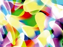 Abstrakt bakgrund med många färg Royaltyfri Bild
