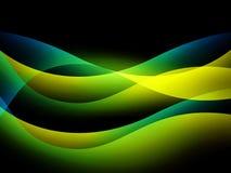 Abstrakt bakgrund med multi-coloured linjer Royaltyfri Fotografi