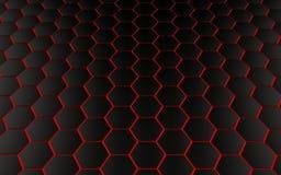 Abstrakt bakgrund med polygoner stock illustrationer