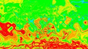 Abstrakt bakgrund med psykedelisk konst Arkivfoton